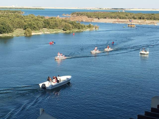 Luxury 1 BR Seaview with huge Terrace & Free kayak