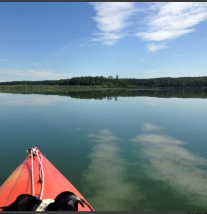 Very calm and quiet lake!
