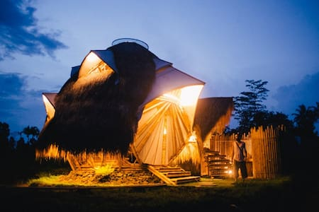 Crystal Dome - Amethyst - Ubud - Bungalow