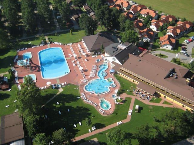 Relax apartment in Terme Banovci spa resort