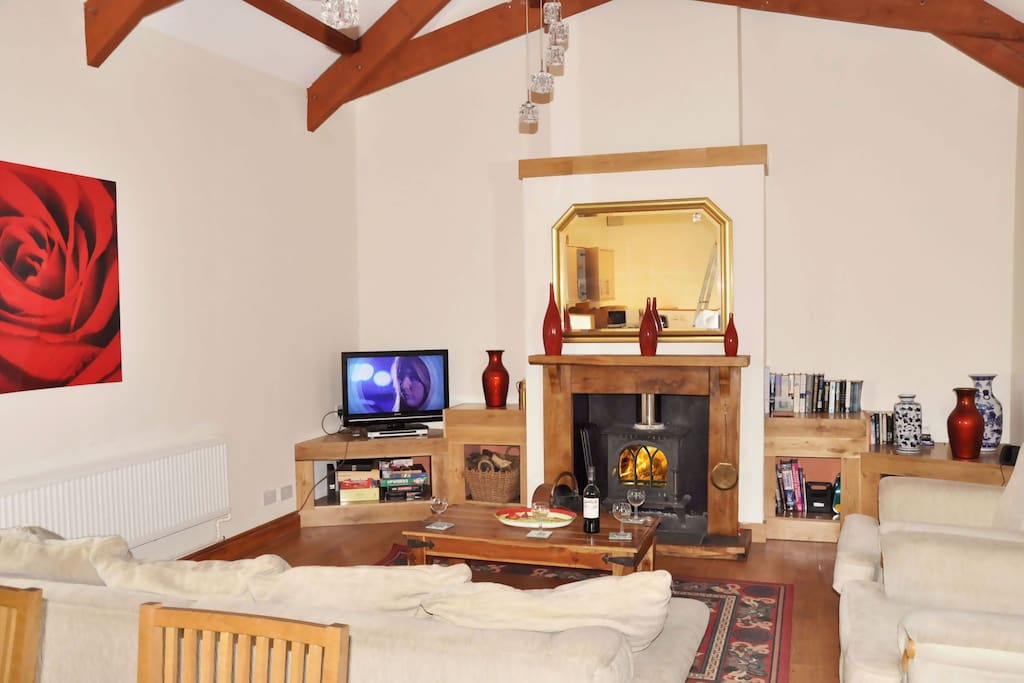 Ground floor: Sitting room in the spacious open plan living space