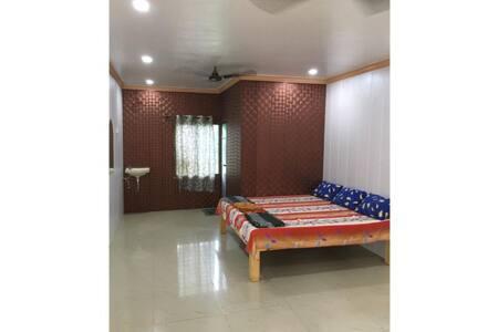 Wooden Room at A Coconut Valley Resort