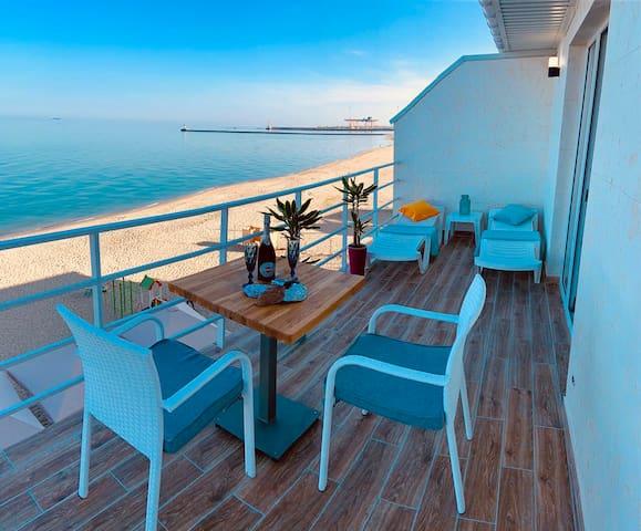квартира с прекрасным видом на море