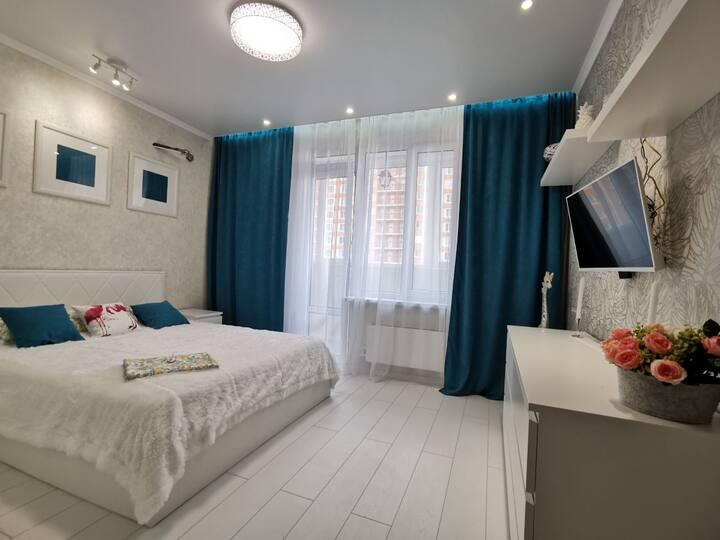 Уютные светлые апартаменты в Ростове-на-Дону