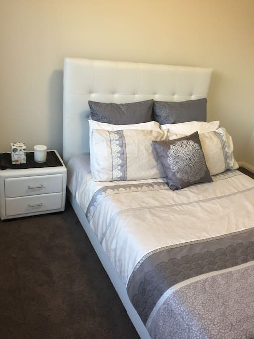 The available bedroom