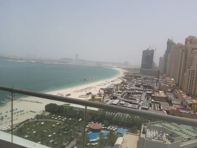 Direct Beach Access, Ain Dxb View 1BR at Al Bateen
