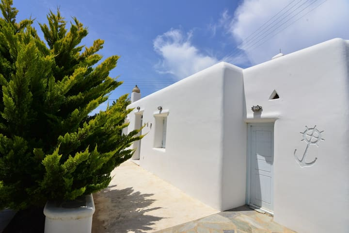 See Mykonos relaxing apartment with free parking - Ano Mera - Dom
