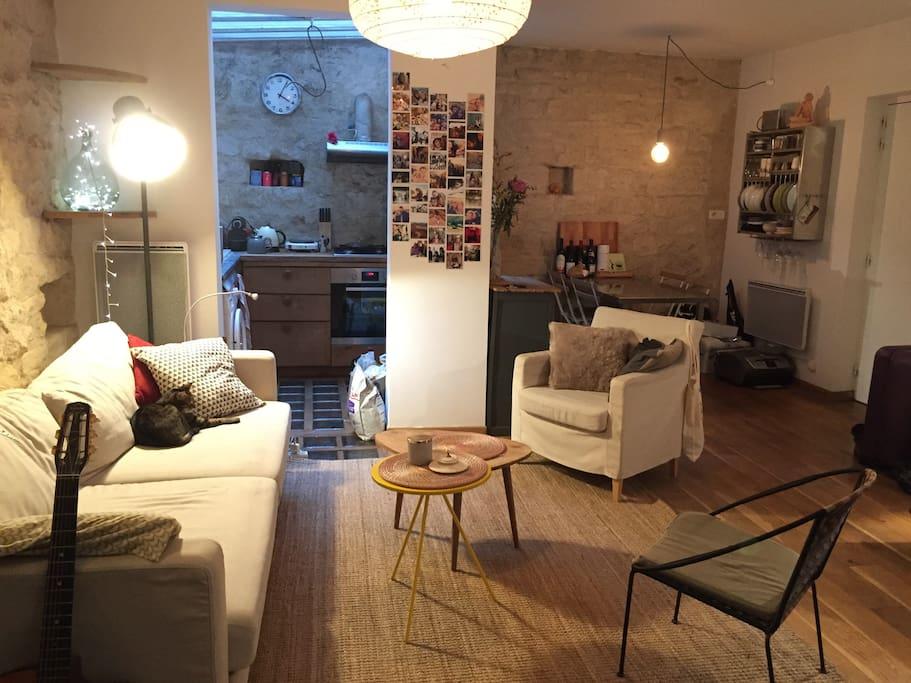la campagne paris loft atypique paris 14e appartements louer paris le de france france. Black Bedroom Furniture Sets. Home Design Ideas