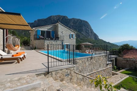 Luxury in the Wilderness of Makarska - Zaostrog - Huvila