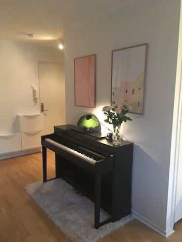 Hidden talents? You're welcome to play the piano