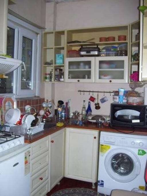 Kitchen (washing machine and dish washer)
