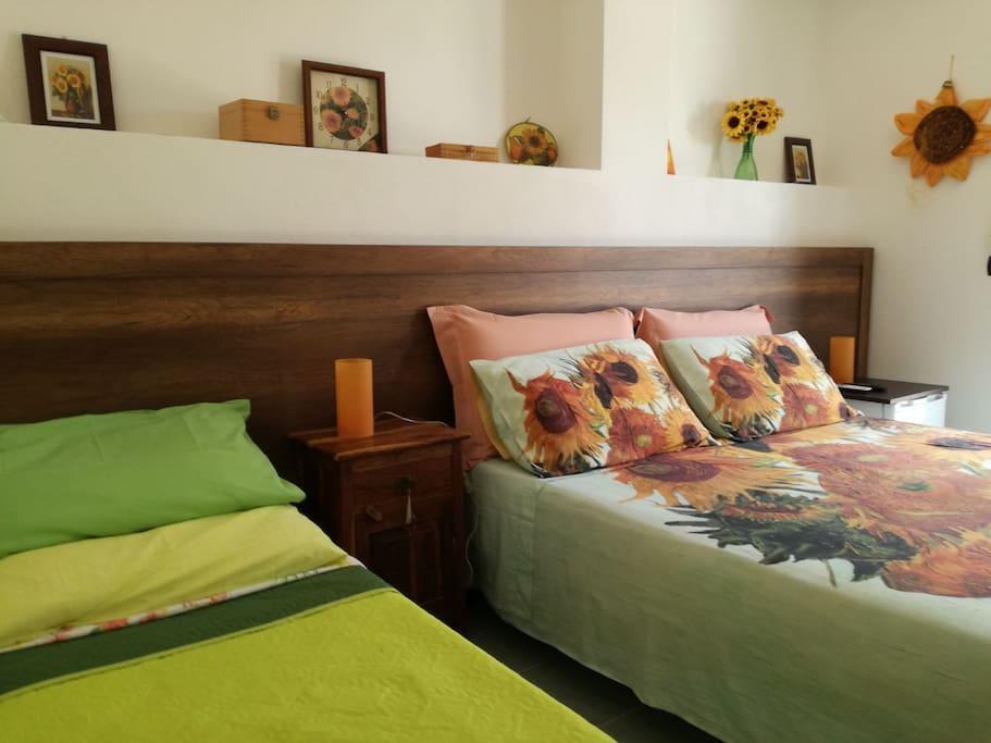 La camera col letto aggiunto