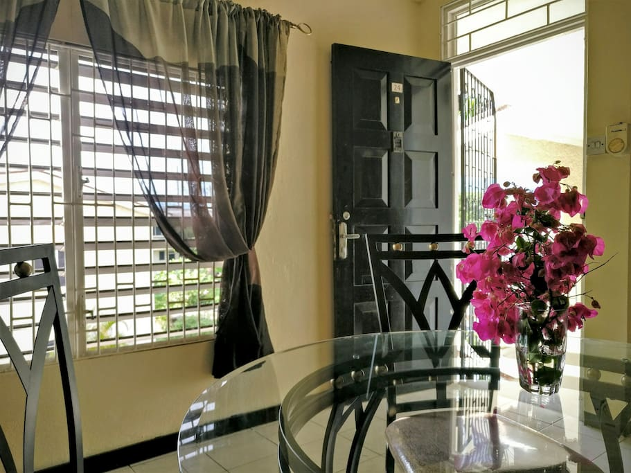 The apartment is bright, beautiful and recently renovated, with high ceilings.