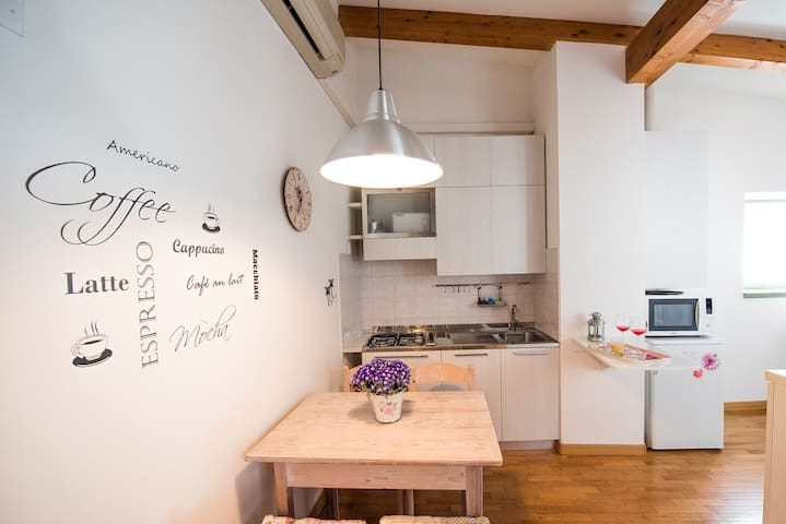 mansarda chic 2 in centro storico - Trento - Appartement