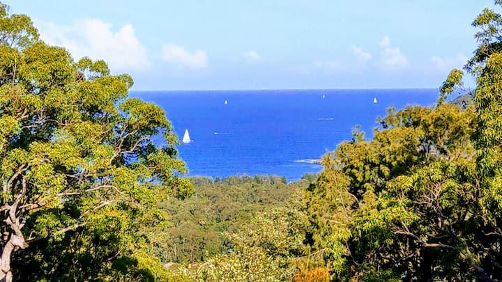 Repose 'Ocean & beach views' Getawayz