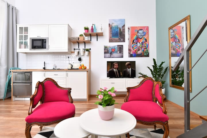 Explore Downtown Budapest from a Lovely Apartment