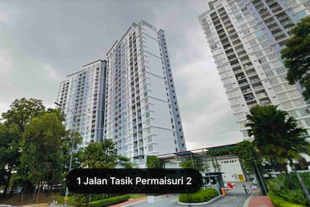 KL Lakeview Suasana Lumayan 3rooms Condominium