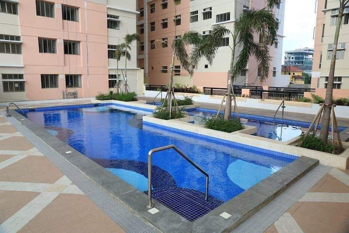 2BR convenient place for staycation w/ free pool