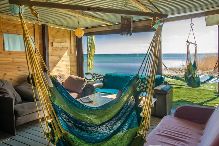 Kite Hostel I Małe Morze I #1 na Półwyspie Helskim