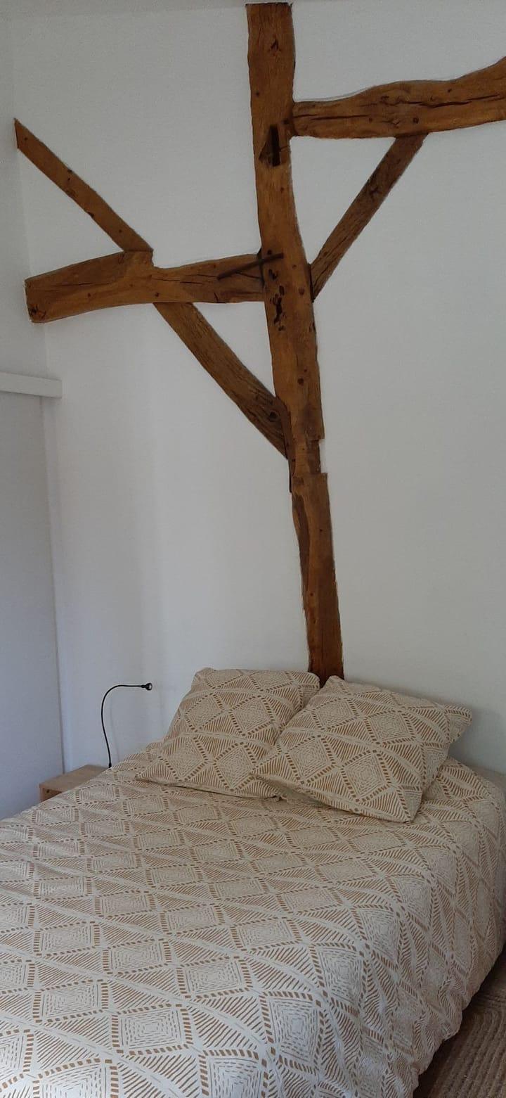 Chambre cosy à la campagne