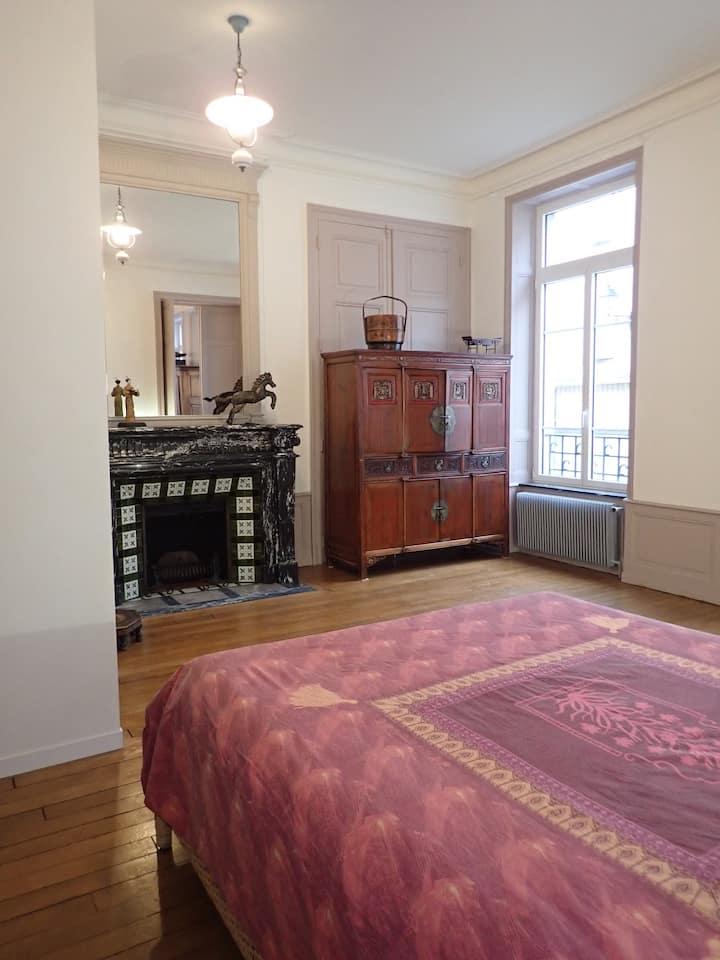 Magnifique appartement dans maison de maître
