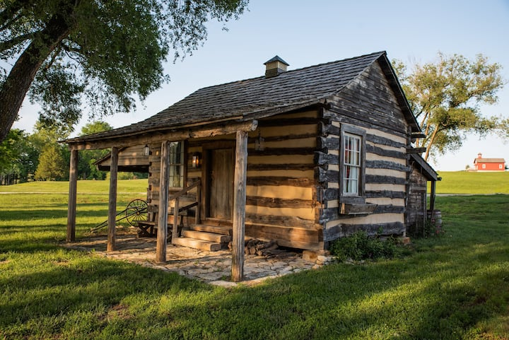 Historic Mellein Log Cabin