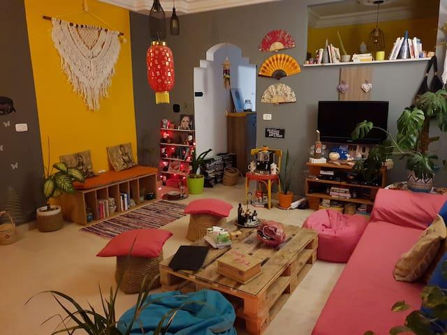 Sweet & Cosy appartement, très bien placé au calme
