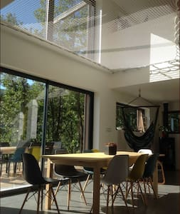 Maison contemporaine en Ardèche - Huis