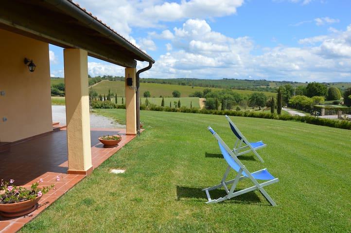 Appartamento con piscina a Magliano in toscana - Magliano in Toscana - Daire