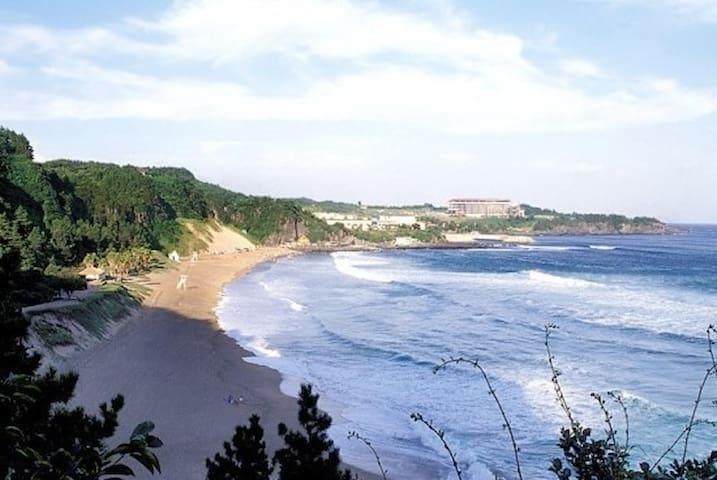 주변관광-중문색달해변(2km, 도보 30분)