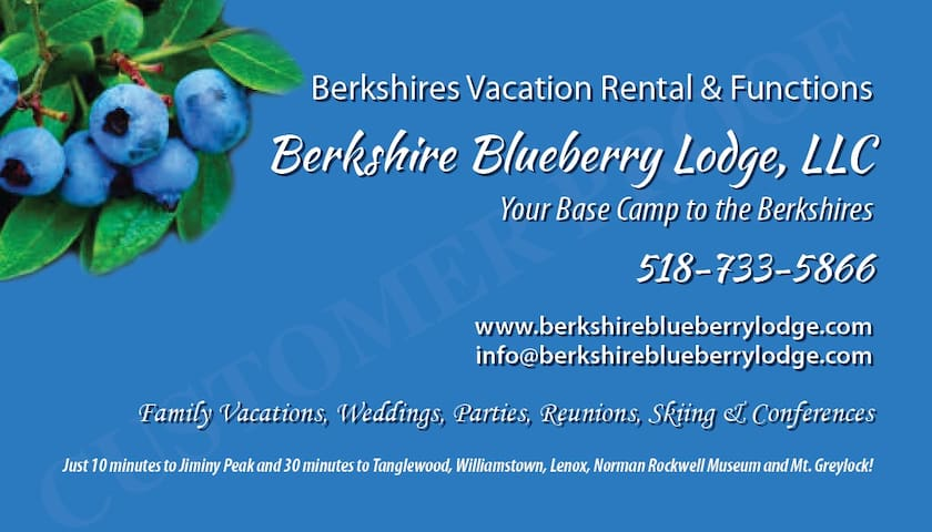 Berkshire Blueberry Lodge LLC - Stephentown - Ev
