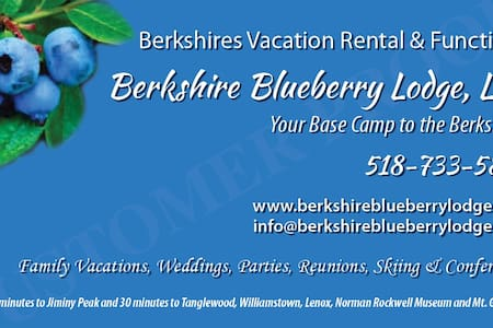 Berkshire Blueberry Lodge LLC - Stephentown - บ้าน