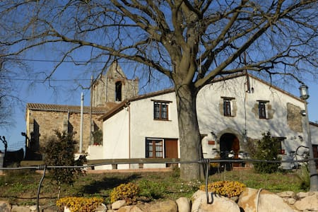 Hotel rural Masia Can Felip, Montseny - St. Joan Sanata - Bed & Breakfast