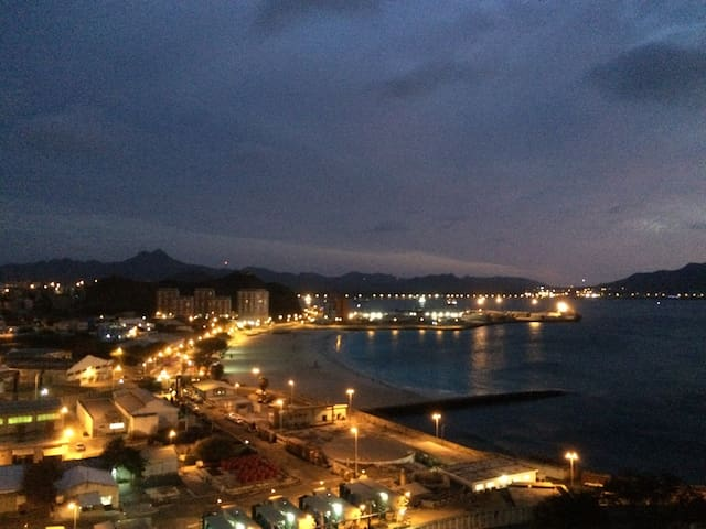 Mindelo City & Beach Coast views - Mindelo - Appartement