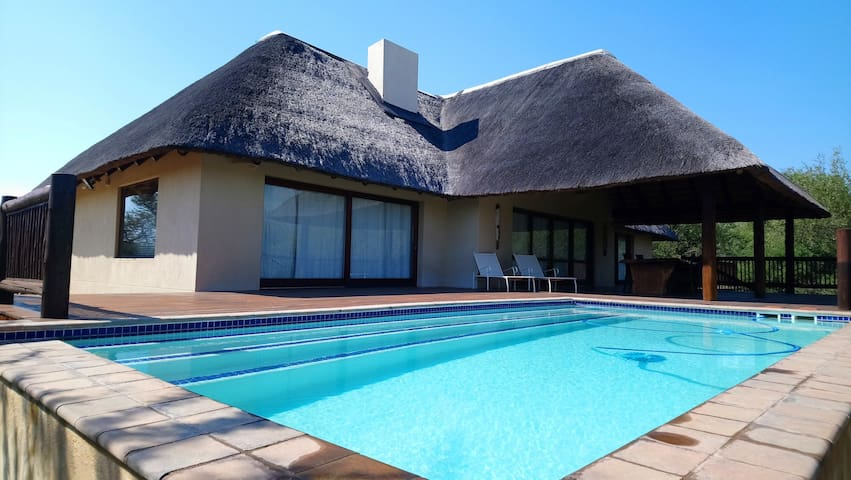 1-Bedroom House In Wildlife Estate 65/Hoedspruit