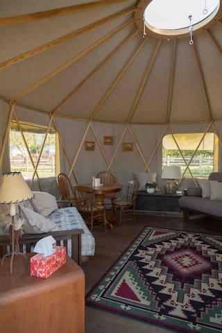 All Seasons Yurt, Prince Edward County