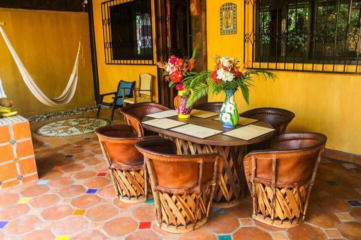 Casamar, cottage with garden