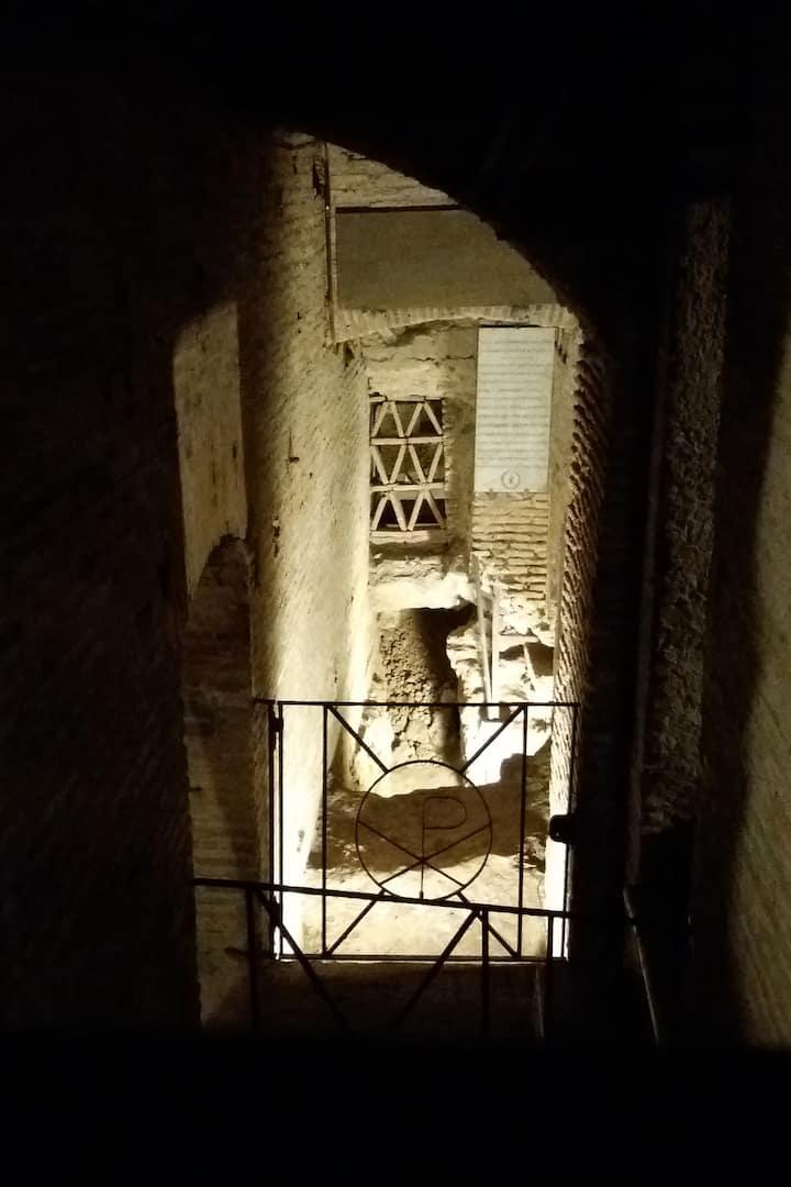 ...to explore the underground of Rome