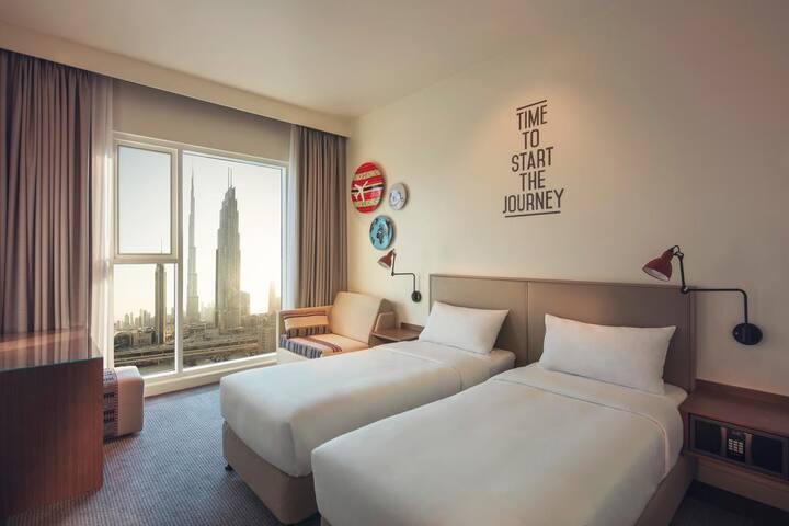 Studio In Downtown Dubai,next to Burj Khalifa - Dubai - Apartmán pro hosty