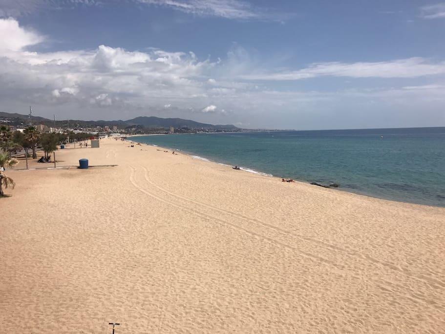 Beach of Badelona