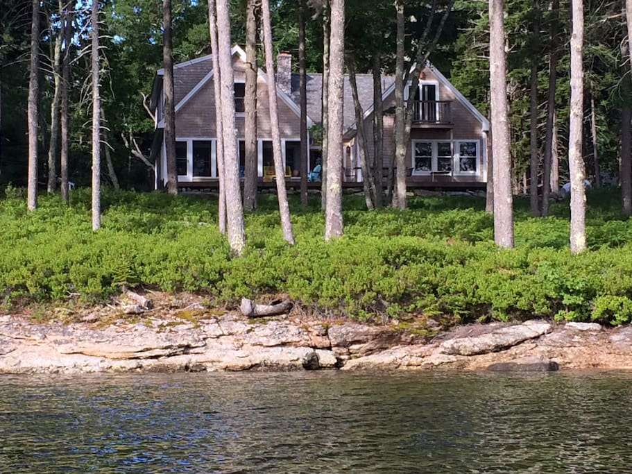 My wonderful cottage on the coast of Maine