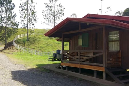 Nature surrounded cabin - rafting,horses & forest
