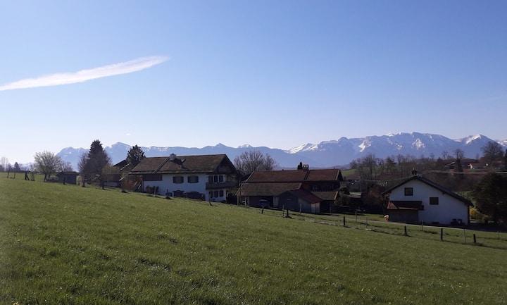 Uffing am Staffelsee - Zuhause mit Aussicht
