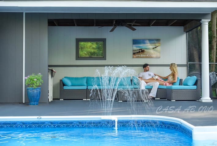 Casa Ab Ovo: SaltWater Pool, Private,AC, Fast WiFi