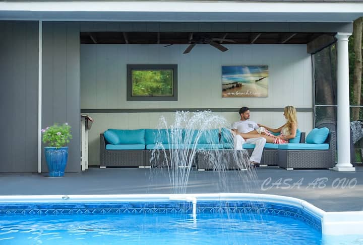 Casa Ab Ovo: SaltWater Pool, Private,AC, Fast WiFi
