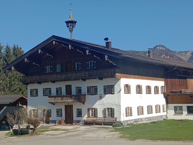 Altes idyllisches Bauernhaus in Toplage