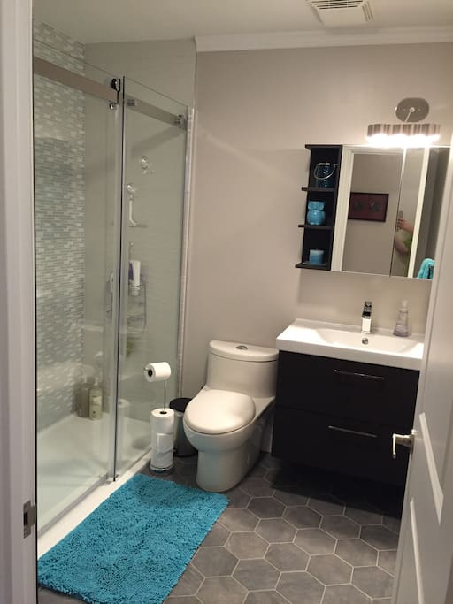 Renovated bathroom (August 2016) shared with me.