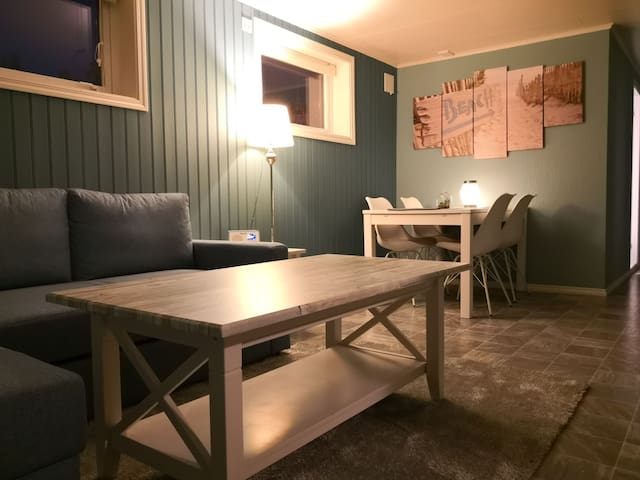 Beautiful apartment in Leknes, middle of Lofoten