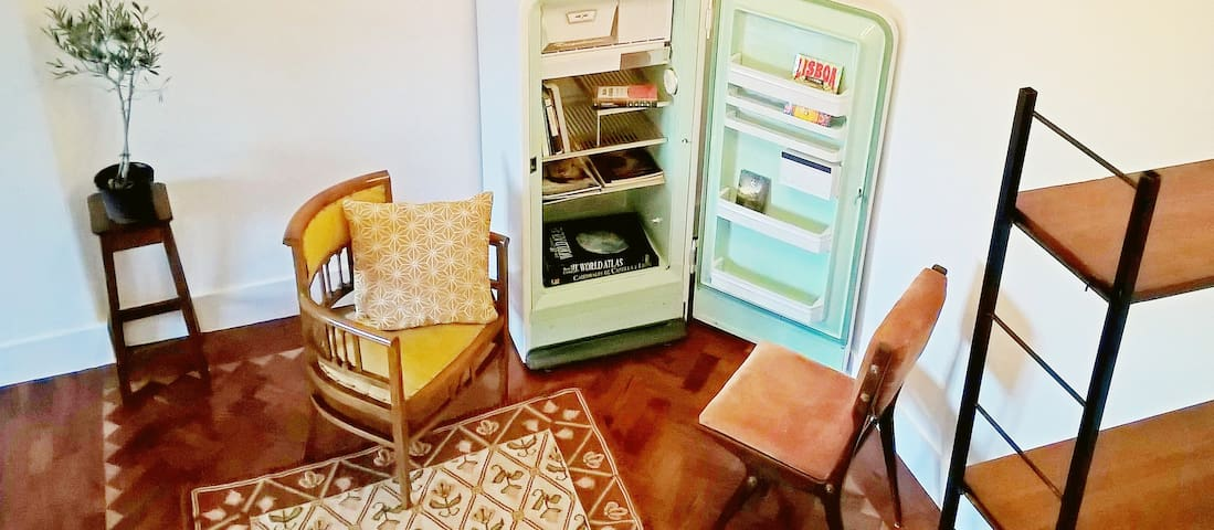 Character 10 mins from centre -- airport lift - Lisboa - Appartement