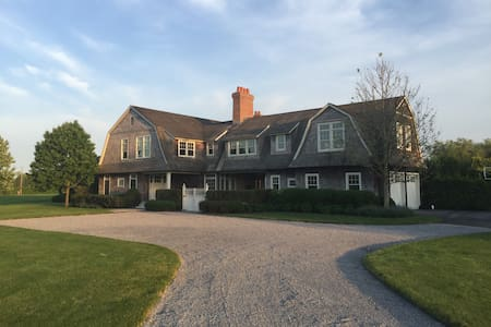 Hamptons estate with pool and tenni - Water Mill - Huis